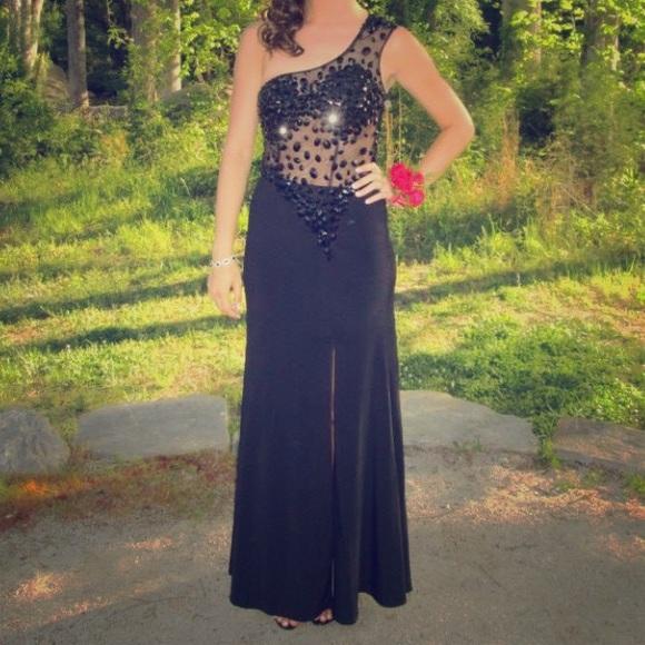 Merle Norman Dresses Black Prom Dress Poshmark